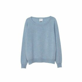 Arela Laine Cashmere Sweater In Light Blue