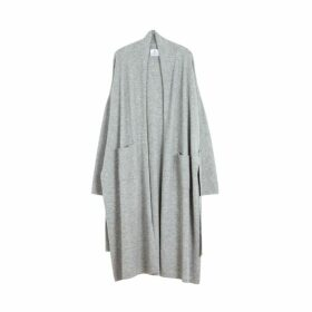Arela Haru Cashmere Robe In Grey