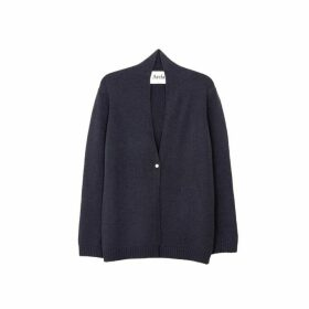 Arela Suzann Cashmere Cardigan In Dark Grey