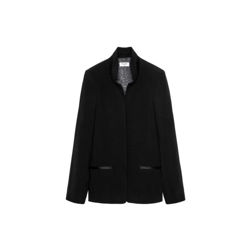 Zadig & Voltaire Volly Crepe Jacket