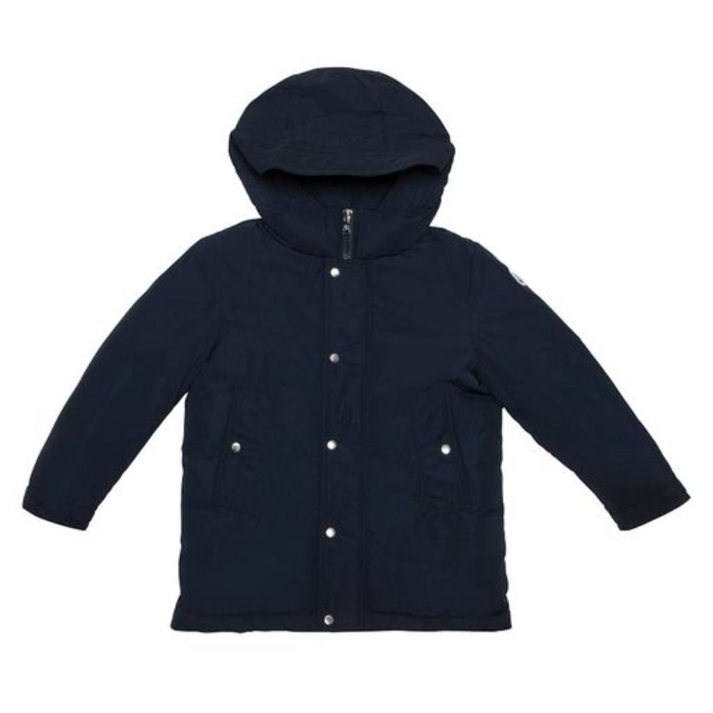 Moncler Navy Hooded Jacket