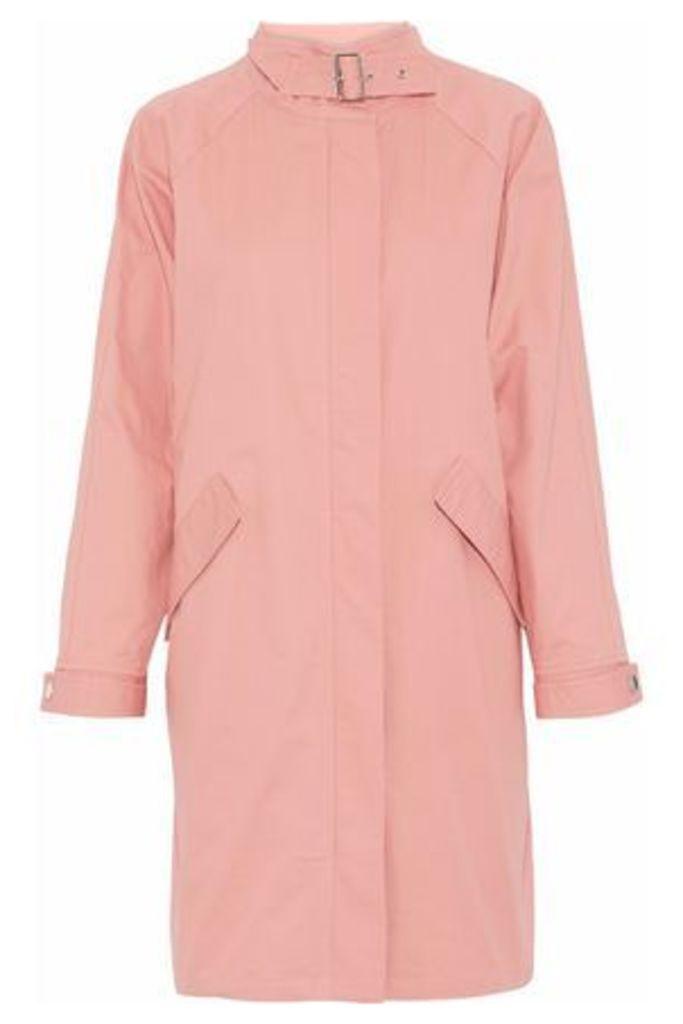 Line Woman Cotton-twill Jacket Peach Size L