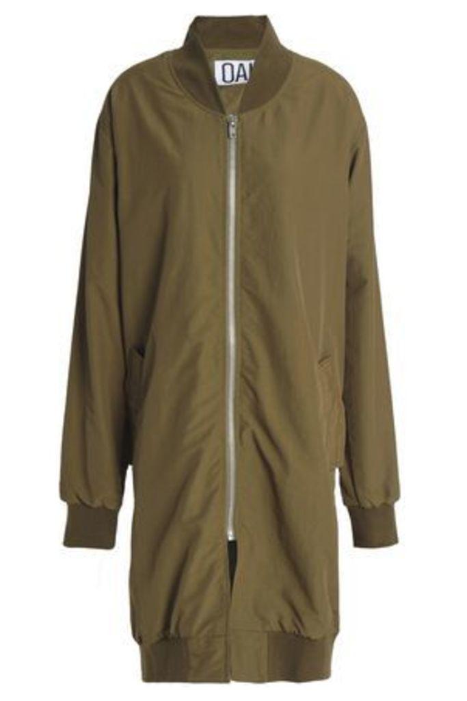 Oak Woman Shell Jacket Army Green Size S