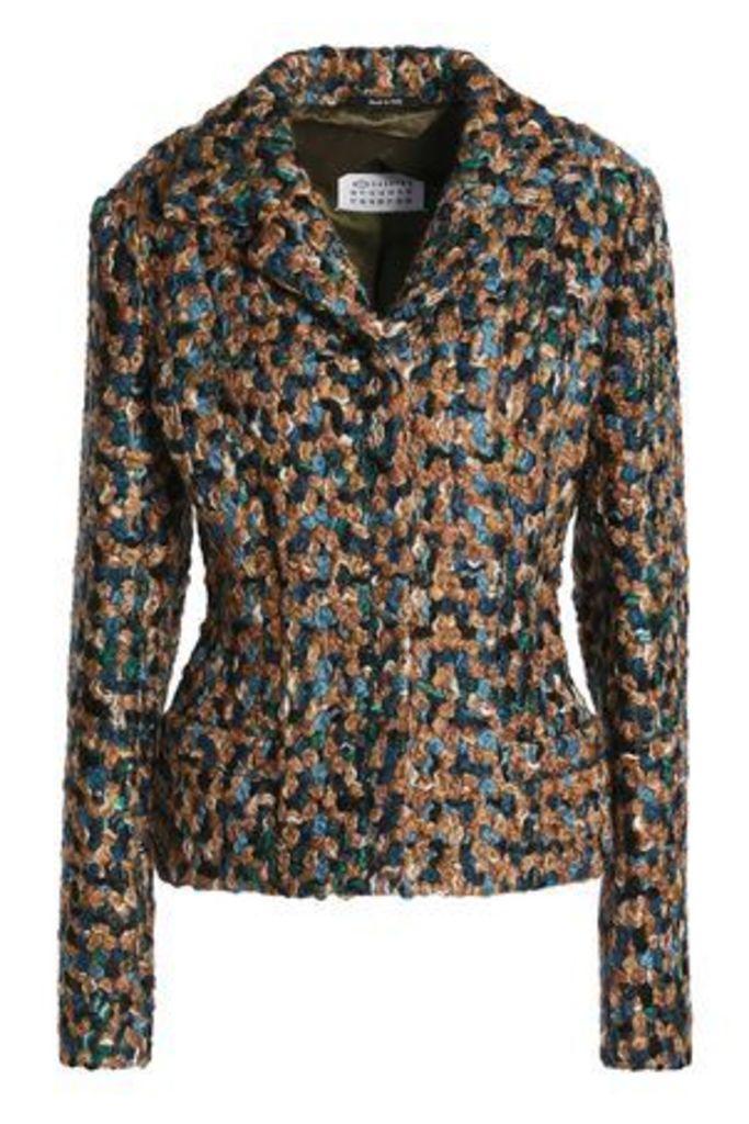 Maison Margiela Woman Wool-bouclé Jacket Multicolor Size 38