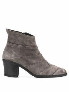 Fiorentini + Baker Milu chunky heel boots - Grey