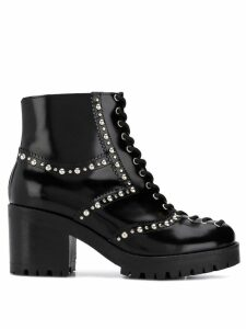 McQ Alexander McQueen lace-up chunky boots - Black
