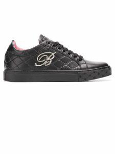 Blumarine monogram sneakers - Black