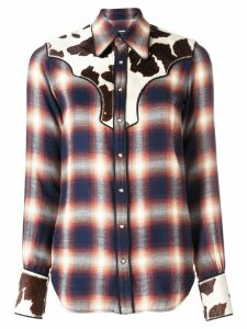 Dsquared2 checked button down shirt - Blue