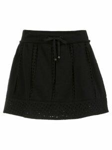 Andrea Bogosian flared skirt - Black