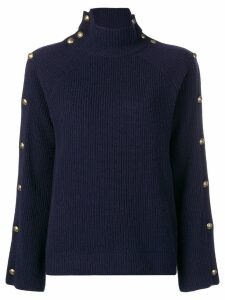 Ralph Lauren Collection buttoned jumper - Blue