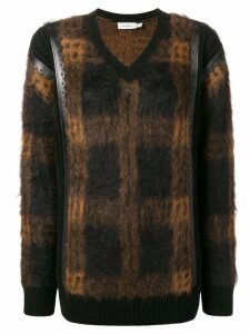 Coach check sweater - Brown