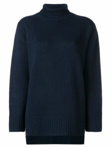 Joseph roll neck jumper - Blue