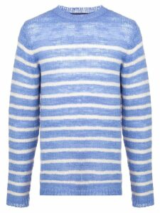 The Elder Statesman Picasso jumper - Blue