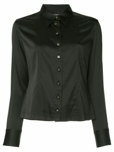 Chanel Pre-Owned CC button shirt - Black