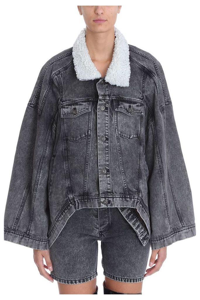 Y/Project Oversized Denim Jacket Shirt