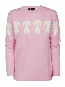 Moncler Embroidered Knitted Sweater