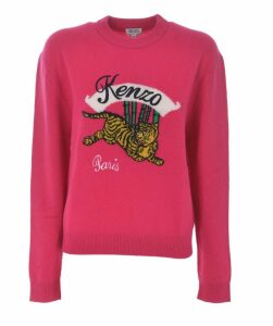 Embroidered Tiger Sweater