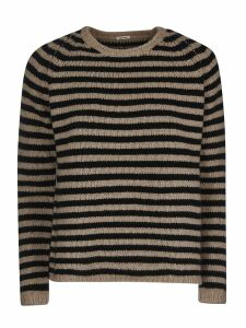 A Punto B Stripe Knitted Sweater