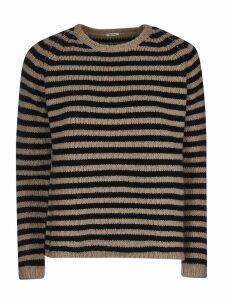 A Punto B Stripe Knitted Sweater