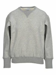 Facetasm Facetasm Grey Cotton Sweatshirt