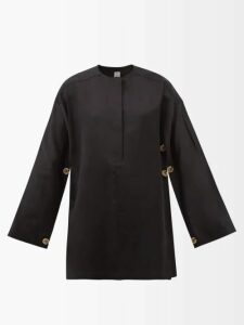Raey - V-neck Ribbed Cashmere Sweater - Womens - Nude