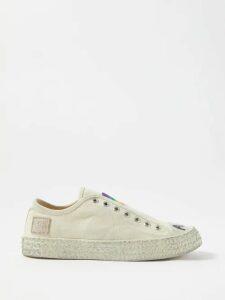 By Walid - Margot Floral-print Silk Midi Skirt - Womens - Pink Print