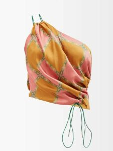 Raey - V Neck Fine Knit Cashmere Sweater - Womens - Dark Green