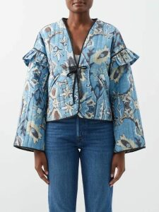Raey - Roll-neck Fine-knit Cashmere Sweater - Womens - Navy