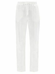 Brock Collection - Tammy Gathered Velvet Blouse - Womens - Black