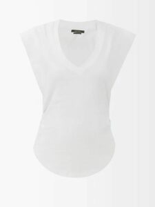 By Walid - Margot Floral-print Silk Midi Skirt - Womens - Black Print