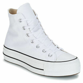 Converse  CHUCK TAYLOR ALL STAR LIFT CANVAS HI  women's Shoes (High-top Trainers) in White