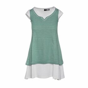 WtR - Mia Black Embellished Velvet Shift Dress