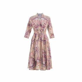 Anna Etter - Amina Paisley Print Dress