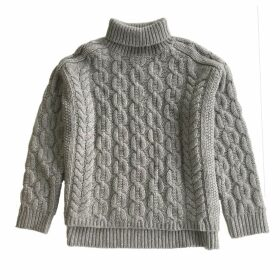 IGGY & BURT - Iggy Roll Neck Jumper Grey