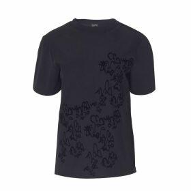 Boo Pala - Black Doodle T-Shirt