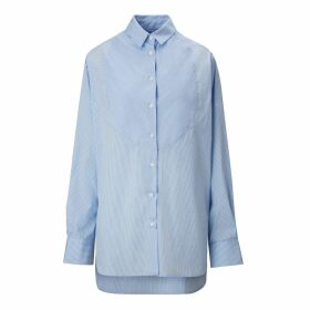 A-line Clothing - Patchstripe Overshirt