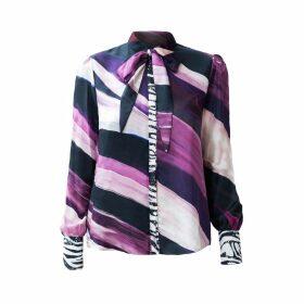 SABINA SÖDERBERG - Saskia Shirt Purple Waves
