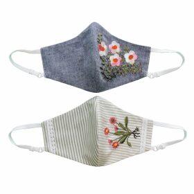 GISY - Vietnam Mandala Fire Neckerchief Silk Scarf