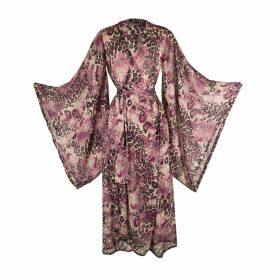 GISY - Vietnam Mandala Metal Neckerchief Silk Twill Scarf