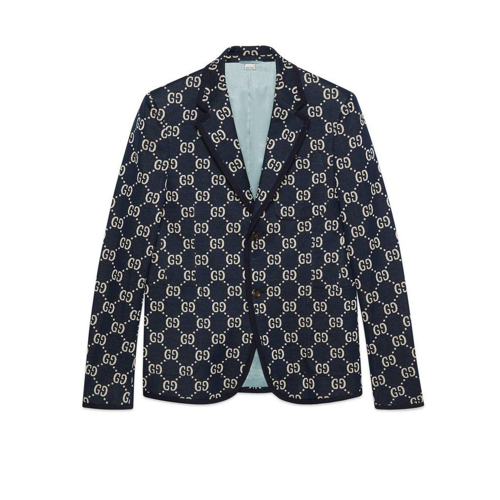 GG jacquard jacket