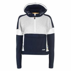 SoulCal Panel Hoodie - Navy/White