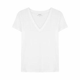 Moncler Black Longline Jersey Sweatshirt