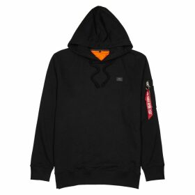 Alpha Industries Xfit Black Terry Sweatshirt