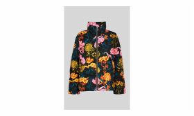 Floral Printed Puffer