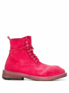 Marsèll lace up ankle boots - Pink