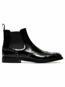 Church's Ketsby studded leather ankle boots - Black