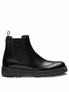 Prada slip-on ankle boots - Black
