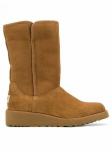 Ugg Australia low heel shearling boots - Brown