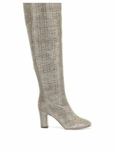 Gia Couture high ankle boots - Silver