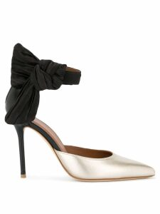 Malone Souliers pointed toe pumps - Gold